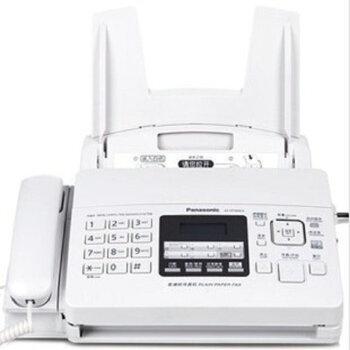 松下(Panasonic) 松下普通纸传真机KX-FP7009CN碳带色带A4中文传真机 白色