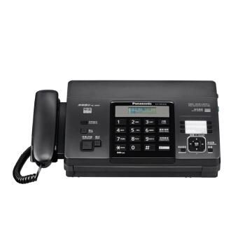 松下(Panasonic) 热敏传真机 热敏纸传真电话一体机 黑色 KX-FT876CN(液晶中文显示/可自动切纸)_怎么样_评测_好不好
