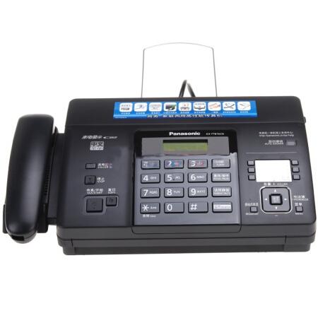 松下(Panasonic)KX-FT876CN 热敏传真机(黑色)_怎么样_评测_好不好